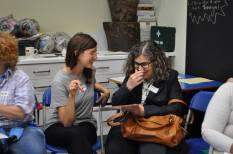 women ESOL Hackney smiling laughing learning antiuniversity