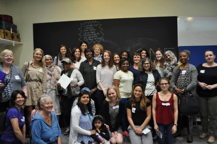 group women migrant ESOL Hackney antiuniversity